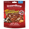 DreamBone Chicken Wrapped Stick Dog Treat, Mini, 15 count