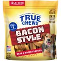 True Chews Bacon Style Beef & Bacon Flavors Dog Treats