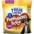 True Chews Pepperoni Style Bacon Flavor Dog Treats