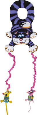 9. Fat Cat Big Mama's Mouse Bouncer Doorknob Hanger Cat Toy with Catnip