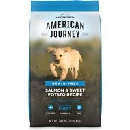 American Journey Large Breed Puppy Salmon & Sweet Potato Recipe Grain-Free Dry Dog Food, 24-lb bag