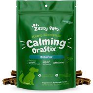 Zesty Paws Hemp Elements Calming Nutrastix Behavior Dog Supplement, 12-oz bag