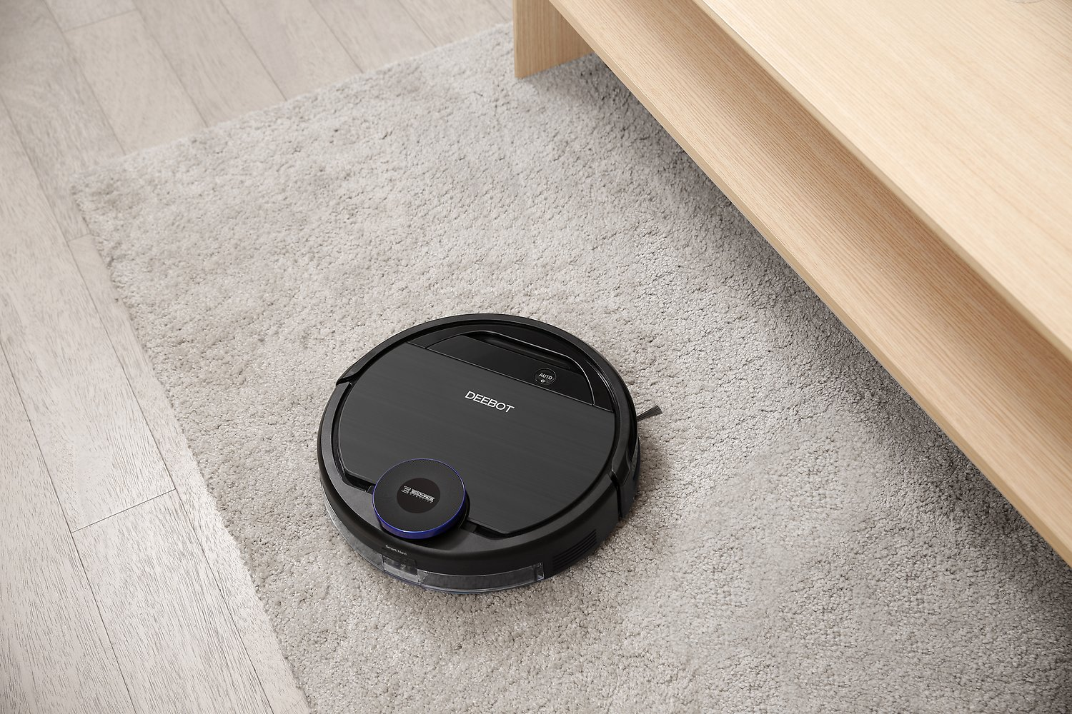 Ecovacs Deebot Ozmo 930 Robotic Vacuum Cleaner Black