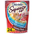 Hartz Delectables Squeeze Up Variety Pack Lickable Cat Treats, 24 count