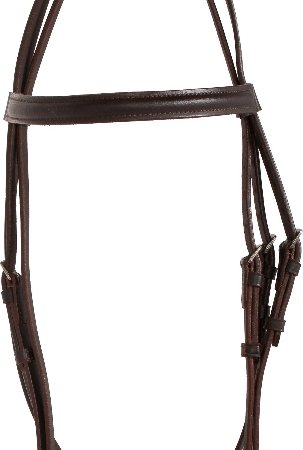Acerugs All Purpose Dark Brown English Horse Tack Jumping Show Bridle Set With Reins
