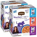 Rachael Ray Nutrish Purrfect Broths Seafood Cat Food Pouches Variety Pack, 1.4-oz, case of 24