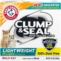 Arm & Hammer Litter Clump & Seal Lightweight Unscented Clumping Clay Cat Litter