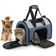 JesPet Soft-Sided Sport Dog & Cat Carrier Bag, 16-in