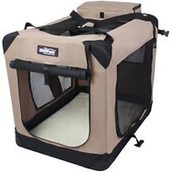 EliteField 3-Door Collapsible Soft-Sided Dog Crate