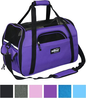 9. EliteField Soft-Sided Airline-Approved Dog & Cat Carrier Bag