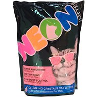 NEON Litter Unscented Clumping Crystal Cat Litter