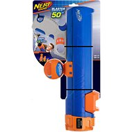 Nerf Dog Blaster with Clip Ball Dog Toy, 16-in