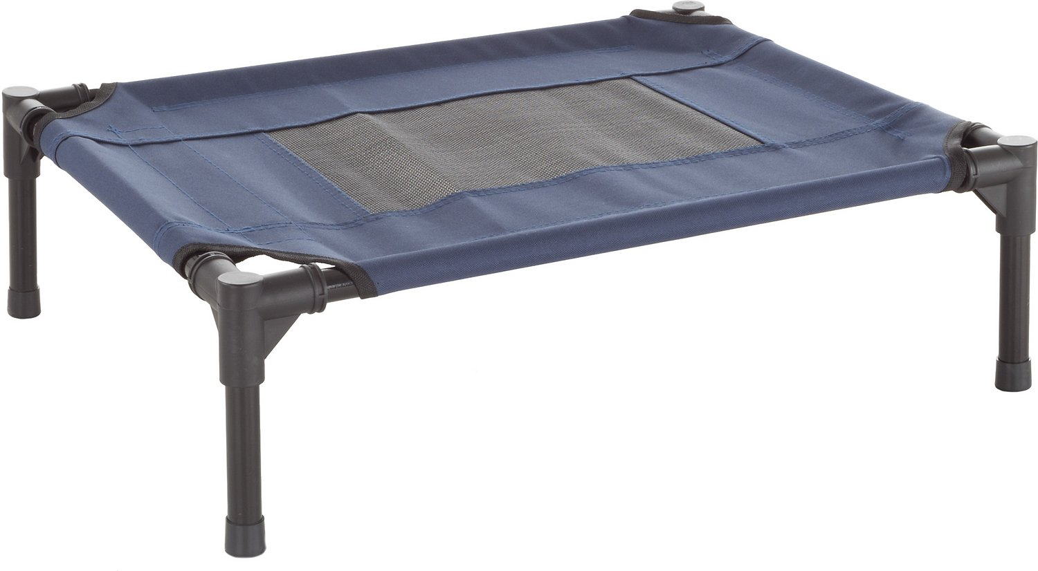 Petmaker Elevated Dog Bed Blue Small Chewy Com