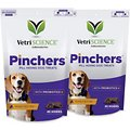 VetriScience Pinchers Pill Hiding Probiotic Peanut Butter Flavor Dog Treats, 45 count, 2 pack