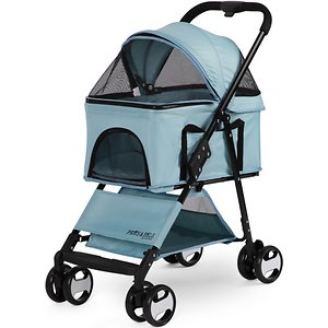 Paws & Pals 2-in-1 Detachable Dog & Cat Stroller & Carrier