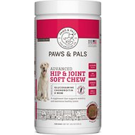 Paws & Pals Advanced Hip & Joint Soft Chews Dog Supplement