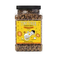 Tiny Tiger Crunchy Bunch, Chicken Cannonball, Chicken Flavor Cat Treats, 20-oz Jar