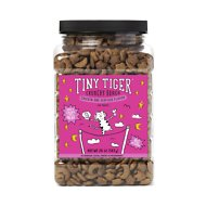 Tiny Tiger Crunchy Bunch, Fearless Feathers and Gracious Gills, Chicken & Seafood Flavor Cat Treats, 20-oz Jar