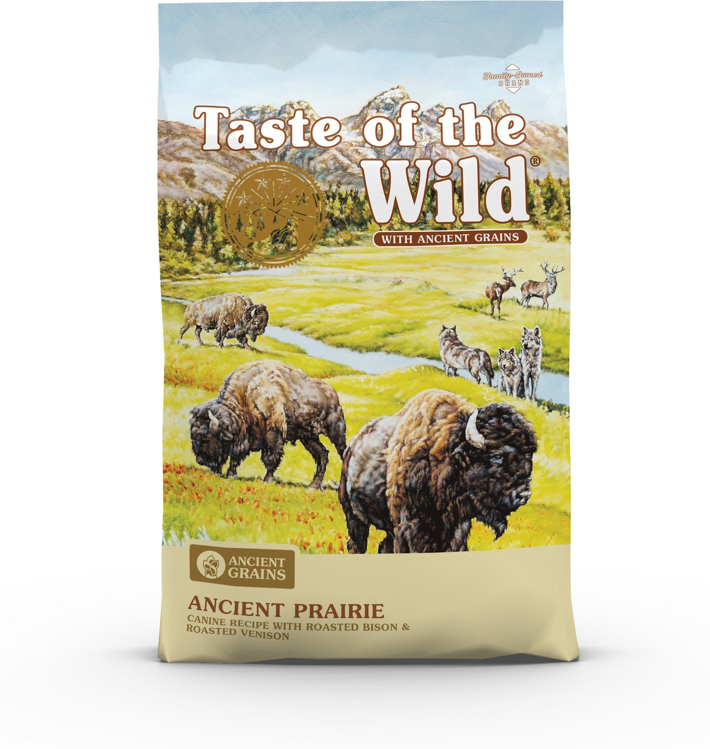 Taste Of The Wild Dog Food Reviews >> Taste Of The Wild Ancient Prairie With Ancient Grains Dry Dog Food 5 Lb Bag
