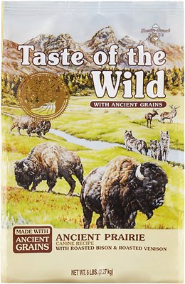 7. Taste of the Wild Ancient Prairie with Ancient Grains Dry Dog Food