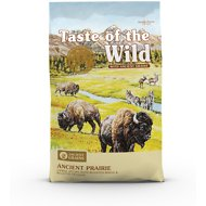 Taste of the Wild Ancient Prairie with Ancient Grains Dry Dog Food, 28-lb bag
