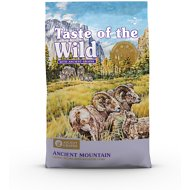 Taste of the Wild Ancient Mountain with Ancient Grains Dry Dog Food, 28-lb bag