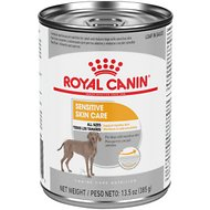 Royal Canin Sensitive Skin Care Loaf in Sauce Dog Food, 13.5-oz can, 12 count