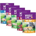Whole Life Just One Ingredient Grain-Free Variety Pack Freeze-Dried Cat Treats, 1-oz bag, 5 pack