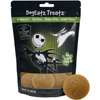 Team Treatz Disney DogEatz Nightmare Before Christmas Rawhide-Free Dental Dog Treats, 7-oz bag