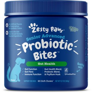 Zesty Paws Advanced Probiotic Bites