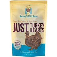 Remy's Kitchen Just Turkey Hearts Freeze-Dried Dog & Cat Treats, 3-oz bag