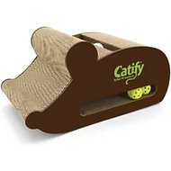 Best Pet Supplies Catify Mouse-Shape Cardboard Scratcher Cat Toy