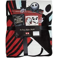 Disney Nightmare Before Christmas Sally & Jack Dog & Cat Throw Blanket