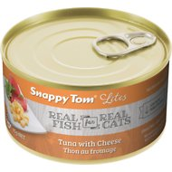 Snappy Tom Lites Tuna with Cheese Canned Cat Food