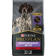 Purina Pro Plan Sport All Life Stages Performance 30/20 Beef & Rice Formula Dry Dog Food, 33-lb bag