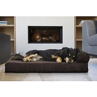 FurHaven Chaise Lounge Orthopedic Cat & Dog Bed w/Removable Cover