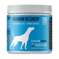 Canine Matrix Maximum Recovery Restorative Care Senior Support Dog Supplement