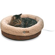 K&H Pet Products Thermo-Snuggle Cup Bomber Heated Dog & Cat Bed
