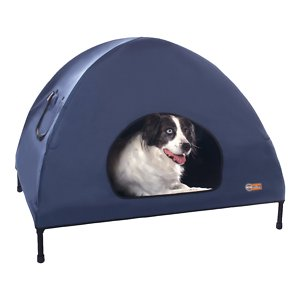 K&H Pet Products Original Indoor/Outdoor Covered Elevated Dog Bed