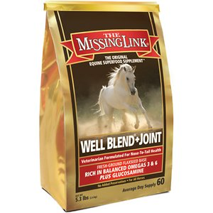 The Missing Link Well Blend + Joint Powder Horse Supplement, 5.3-lb bag