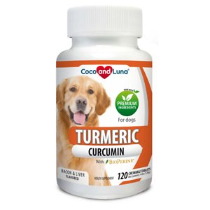 Vita Pet Life Turmeric Anti-Inflammatory Bacon & Liver Flavor Dog Supplement
