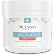 Dr. Lyon's Pill Pouches Beef Flavor Dog Treats