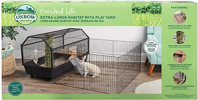 Oxbow Enriched Life Small Animal Cage With Play Yard X