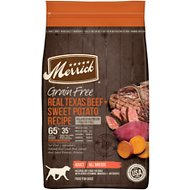 Merrick Real Texas Beef + Sweet Potato Recipe Grain-Free Adult Dry Dog Food