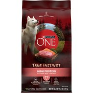 Purina ONE SmartBlend True Instinct High Protein Beef & Salmon Adult Dry Dog Food, 3.8-lb bag