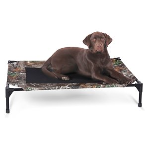K&H Pet Products Elevated Dog Bed, Camo, Large