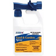 Zodiac Flea & Tick Yard & Garden Pet Spray, 32-oz bottle