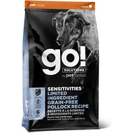 Go! SENSITIVITIES Limited Ingredient Pollock Grain-Free Dry Dog Food