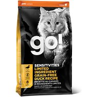 Go! SENSITIVITIES Limited Ingredient Duck Grain-Free Dry Cat Food