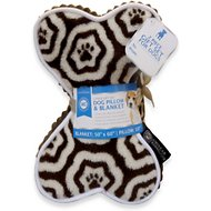 American Kennel Club Paw Blanket & Dog Pillow
